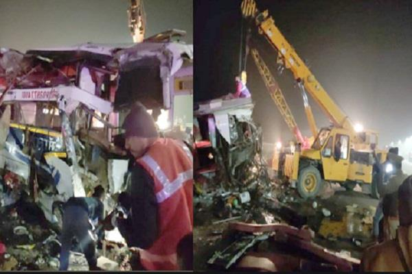 prime minister expresses grief over uttar pradesh expressway road accident