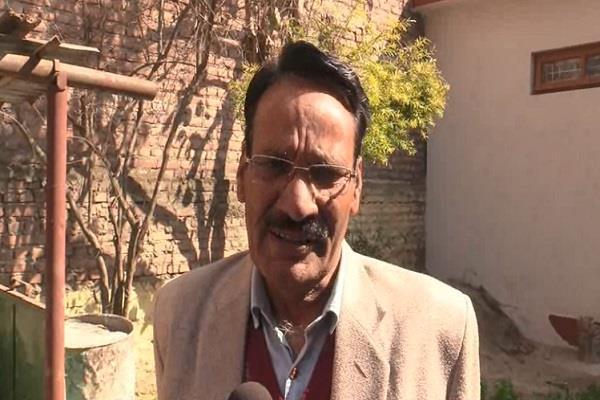 sohn lal retired teacher of sundernagar announced his body