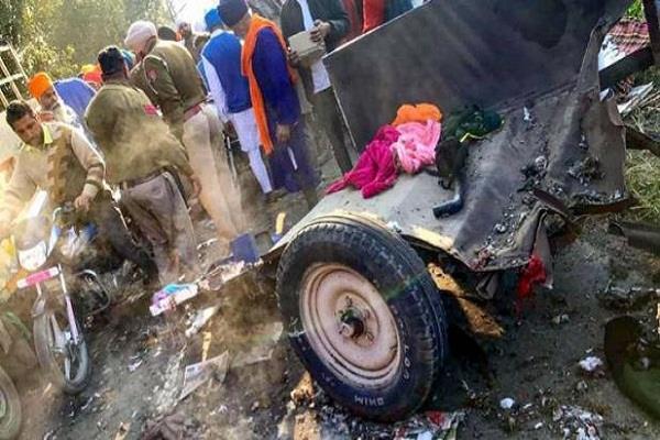 blast case nagar kirtan people forcibly rescued fireworks sacks police