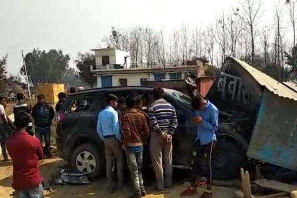 shahjahanpur 4 killed 5 injured in road accident