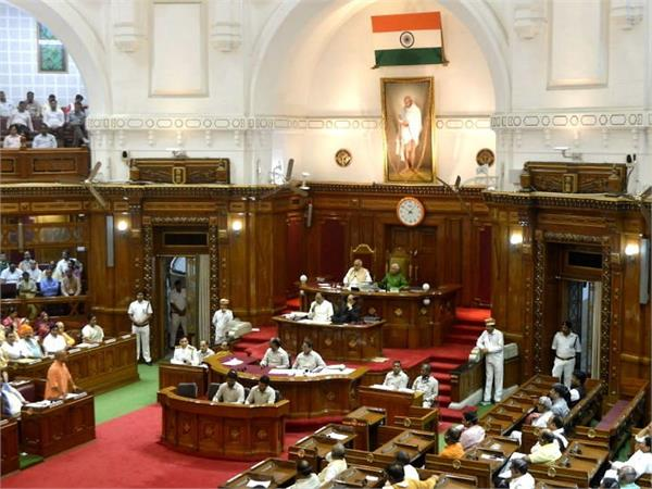 opposition faces exit from assembly accuses up government of