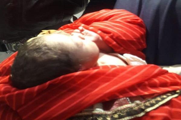 newborn found in plastic envelopes in bushes on shivratri mahaparva
