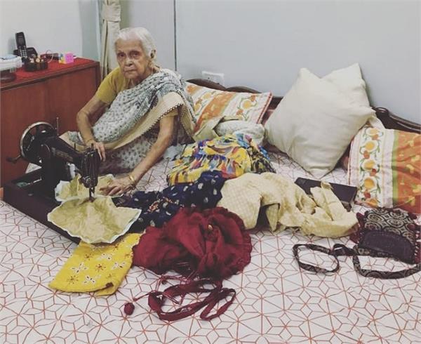 90 की उम्र में शुरु किया बिजनेस, अब देश-विदेश में फेमस है दादी के पोटली बैग्स