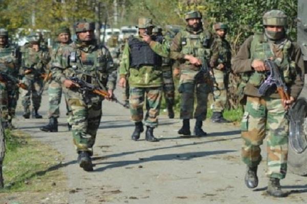 input received terrorists bandipora kashmir army starts search operation