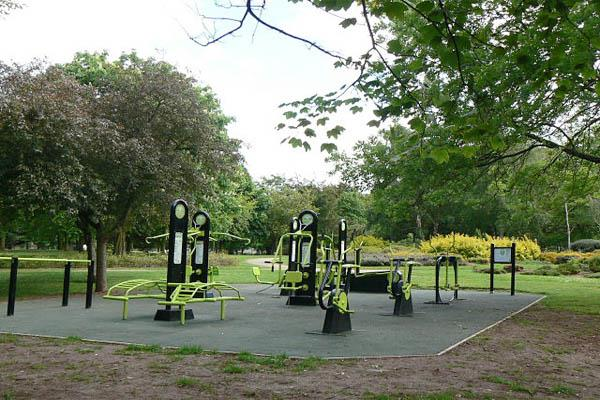 nahan open air gym youth help