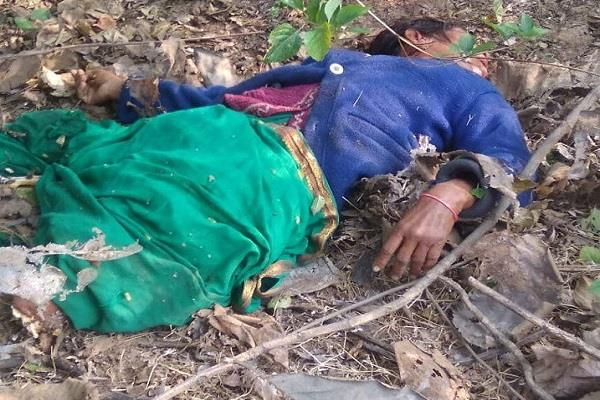 tiger hunted woman in pipriya
