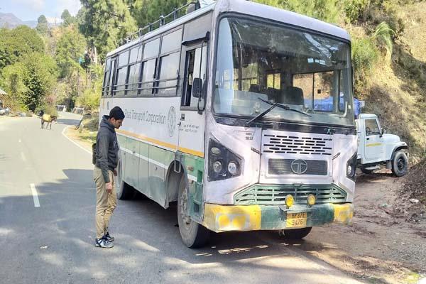 tunuhatti bus spoiled passenger upset