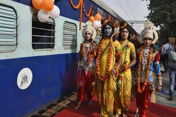ramayana express train will run from march which cities will travel to know