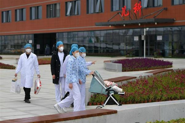 china 7 month old corona virus patient discharged from hospital