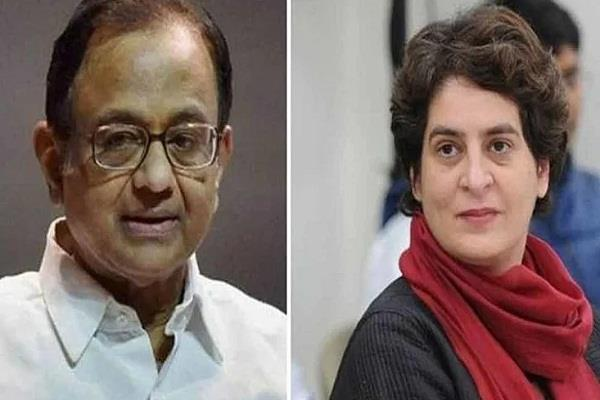 priyanka gandhi and chidambaram furious over kapil mishra
