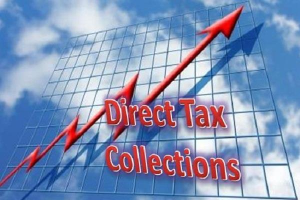 direct tax collection target in the current financial year