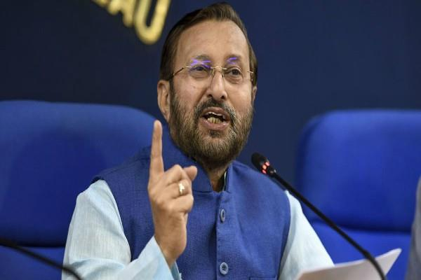 congress is doing dirty politics on delhi violence prakash javadekar