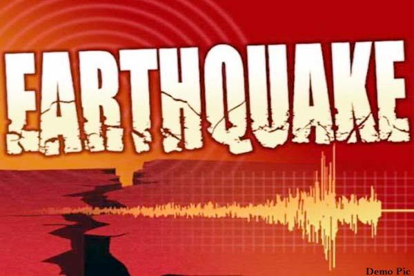 land of himachal again shaken due to earthquake