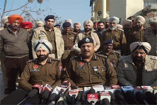 amritsar jail break scandal 7 police officers suspended