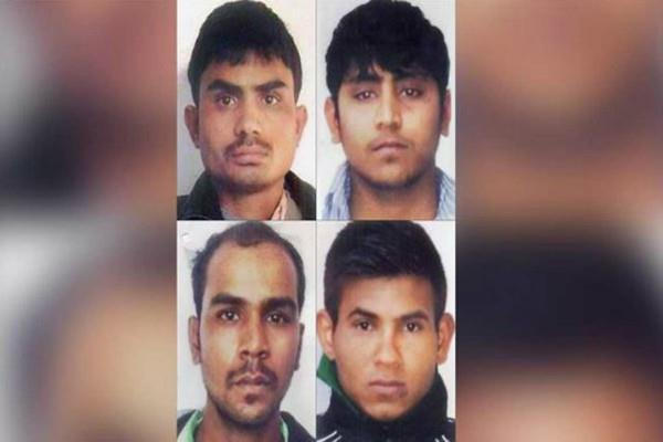 nirbhaya case supreme court issues notice to four convicts