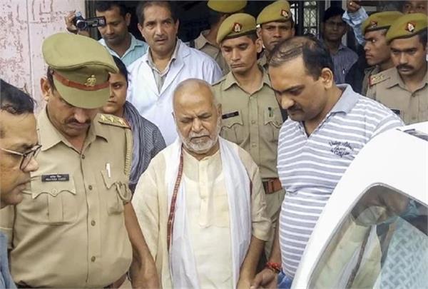 chinmayananda has not been released despite getting bail