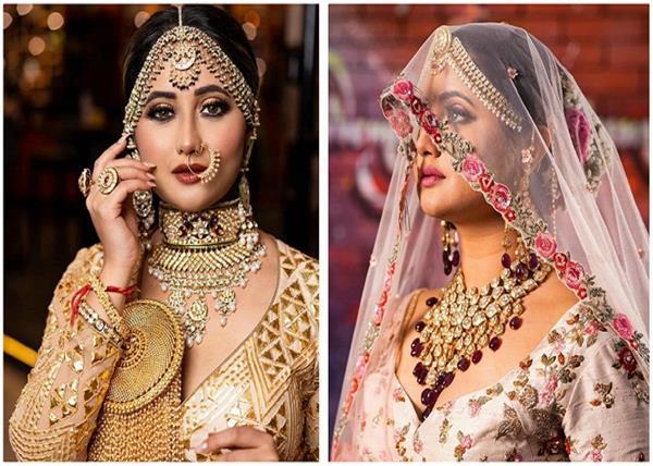 Bridal Fashion: देखिए रश्मि की बेस्ट ब्राइडल लुक्स!