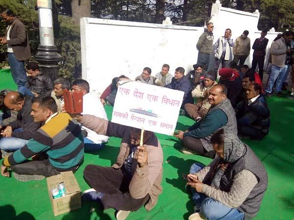 rally and strike in shimla