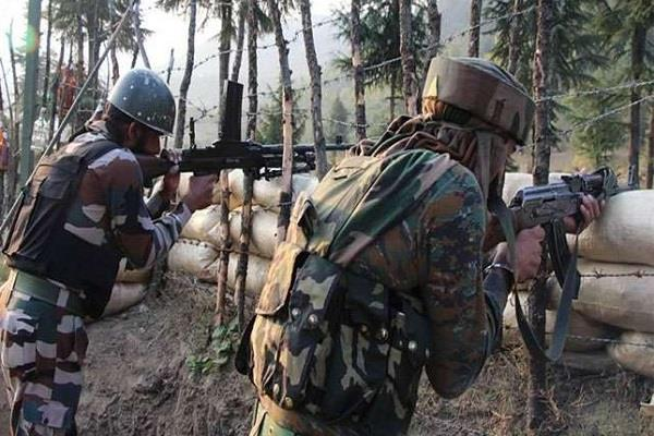 pak smashes ceasefire in gurez sector army soldier injured