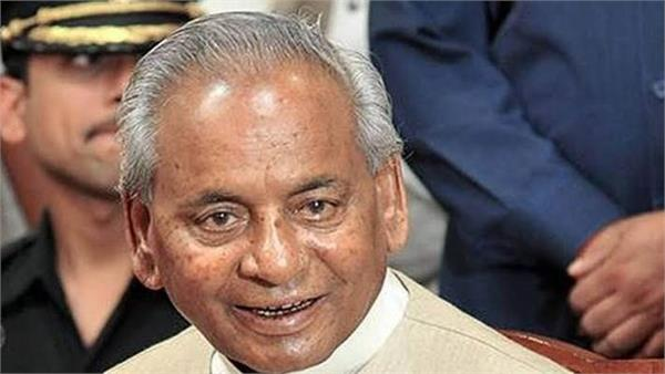 former cm kalyan singh said not only dalits but also backward