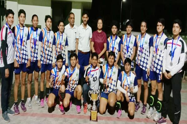 bilaspur handball competition himachal silver medal