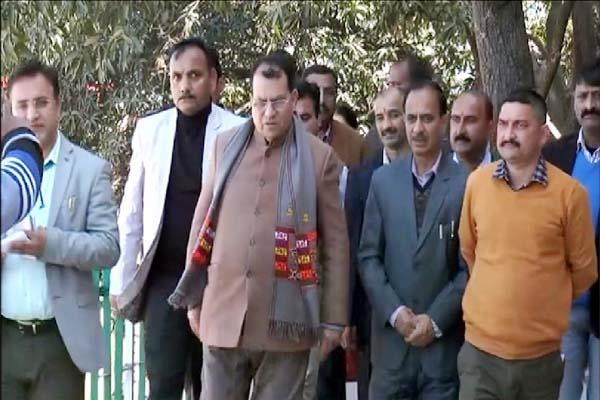education minister suresh bhardawaj in nahan