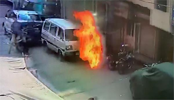 youth set himself on fire outside clinic
