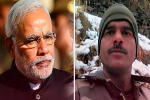 former soldier tej bahadur approaches sc against pm modi s election