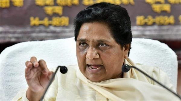 mayawati says government should take immediate steps on reservation