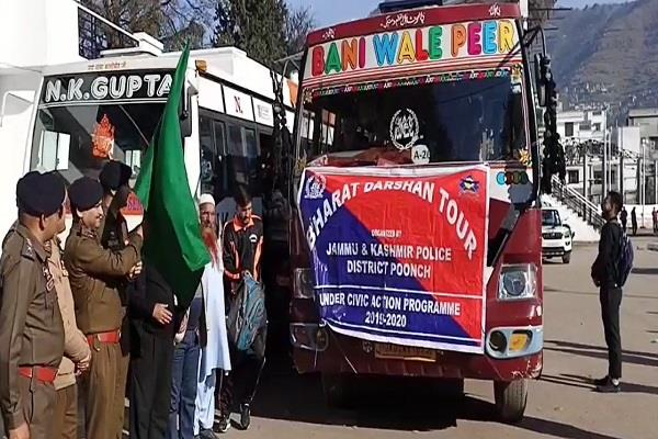 75 students sent to visit india ssp flagged off