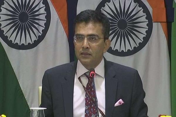 india raised strong objection to oic s statement on delhi violence