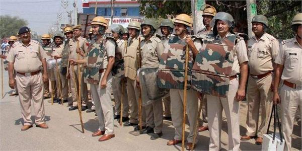 delhi violence haryana police issued advisory regarding law and order