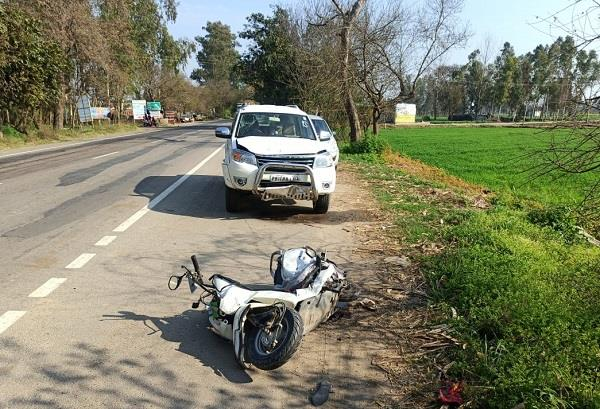 road accident death