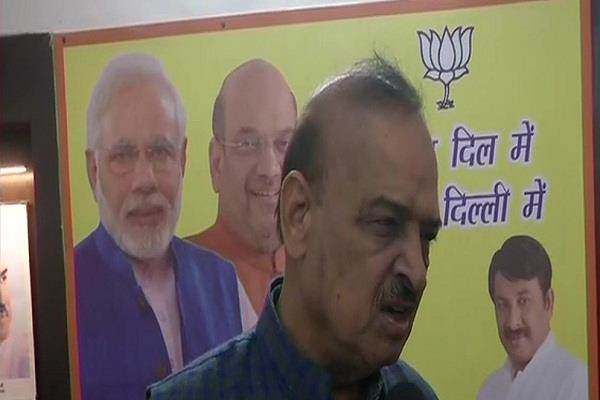terrorists did not change even after defeat bjp mla told kejriwal