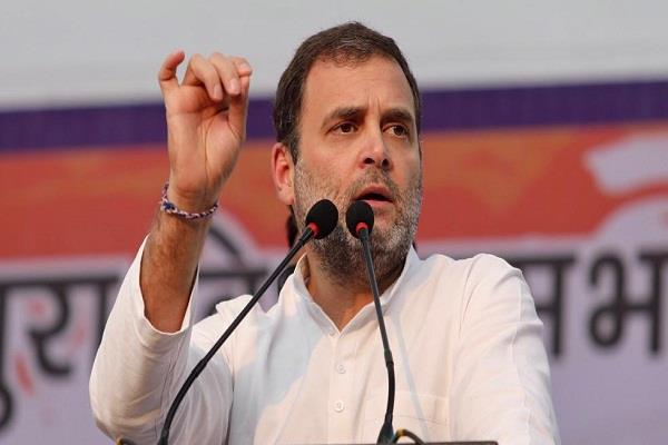 rahul target on modi government says all are selling maybe even sell taj