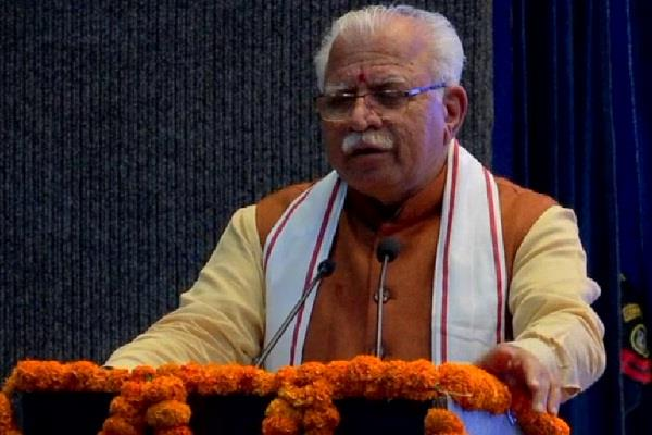 cm khattar made a big announcement for environmental protection