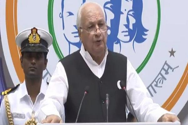 kerala governor arif khan said  to consider others a form of terrorism
