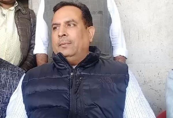 abhimanyu said for the post of bjp president i am not in any race only worker
