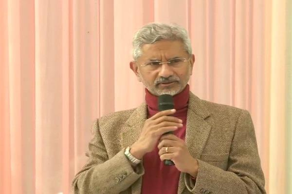 this government talked about reform so i came into politics jaishankar
