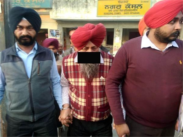 nagar council bassi pathana control red handed while taking bribe