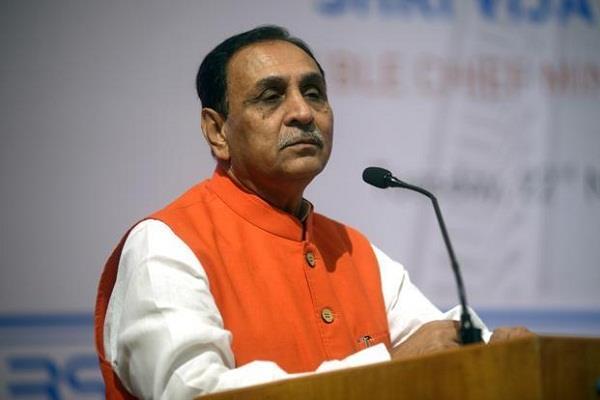 cm vijay rupani claims  not 100 but 8 crore spent on trump s visit