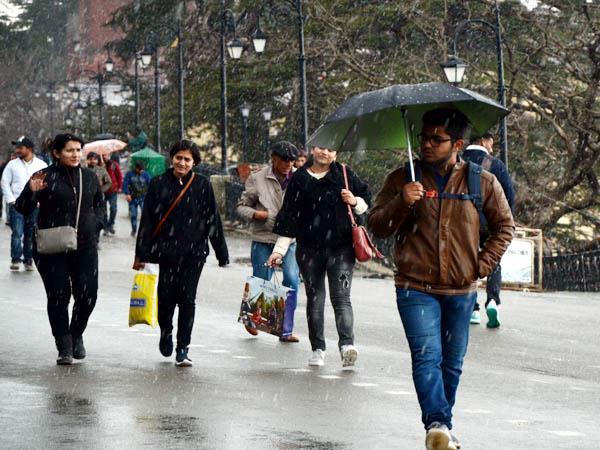 hailstorm in shimla