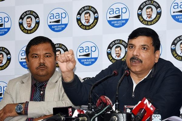 javadekar told kejriwal terrorists showed aap a challenge to bjp