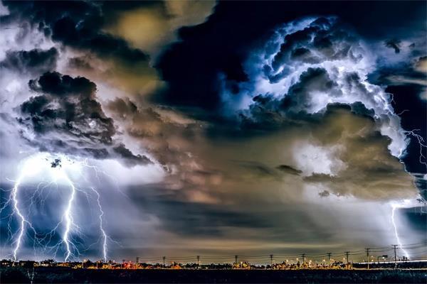 shimla weather lightning storm warning alert