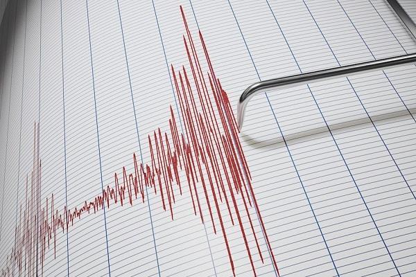 earthquake shaken due to earthquake