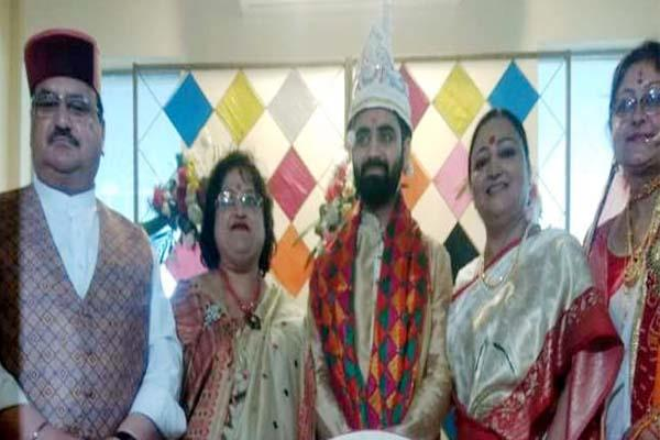 marriage of elder son of bjp national president jp nadda came into the limelight