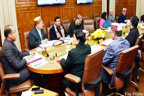 cabinet meeting will be held on this day in shimla