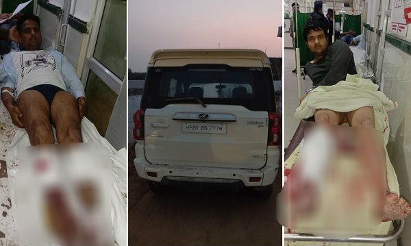 attack on faridabad police 2