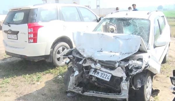 three killed in separate road accident in haryana