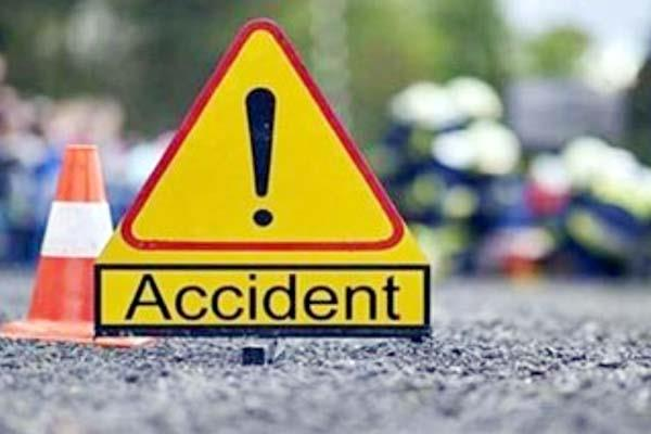 death of one 3 injured in 2 road accidents